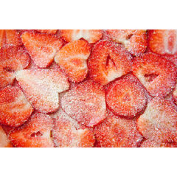 IQF Freezing Organic Strawberry HS-16090907